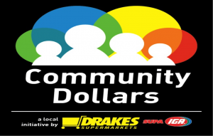 IGA Community Dollars logo