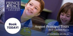 Principal Tours – August 2017